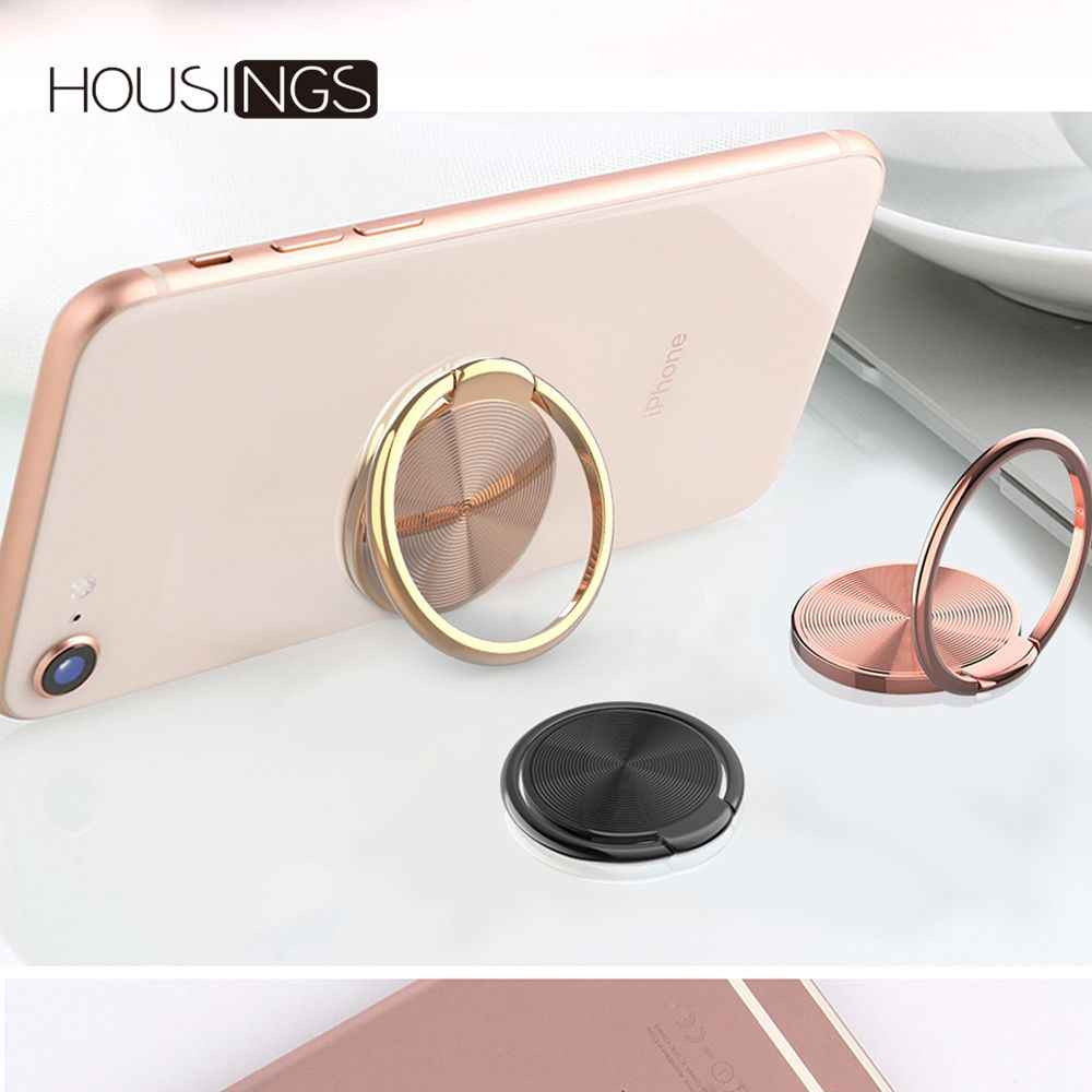 360 Rotating Finger Ring Holder Universal Phone Stand Grip For iPhone 7 Plus Mount Tablet Stand Smart Cell Phone Buckle Bracket