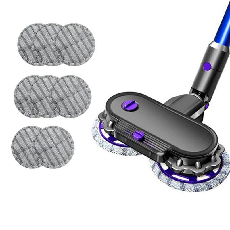 Насадка для электрической швабры, для пылесоса Dyson V7 V8 V10 V11, Влажная и сухая щетка с резервуаром для воды