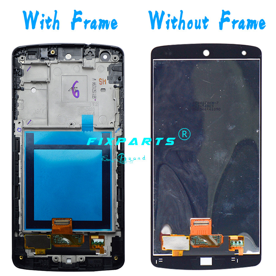 LG Google Nexus 5 LCD Display Screen Display Touch Screen With Frame