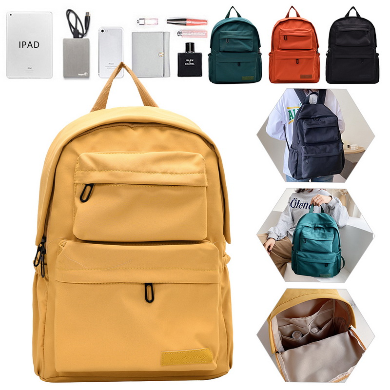 H5e884af7794a44c0b6145663471aa34b2 - New Waterproof Nylon Backpack for Women Multi Pocket Travel Backpacks Female School Bag for Teenage Girls Dropshipping