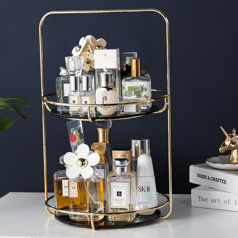 ANFEI Gold Stainless Handle Perfume Bottle Box Gold Stainless Handle Detachable Brand Perfume Bottle box holder box|Storage Boxes & Bins|Home & Garden - title=