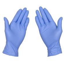 Puncture Resistant Nitrile Coated Blue Gloves Gardening Work Latex in Light Nitrile Gloves Hand Protection Soft Heavy Duty nmsafety better grip ultra thin knit latex dip nylon red latex coated work gloves luvas