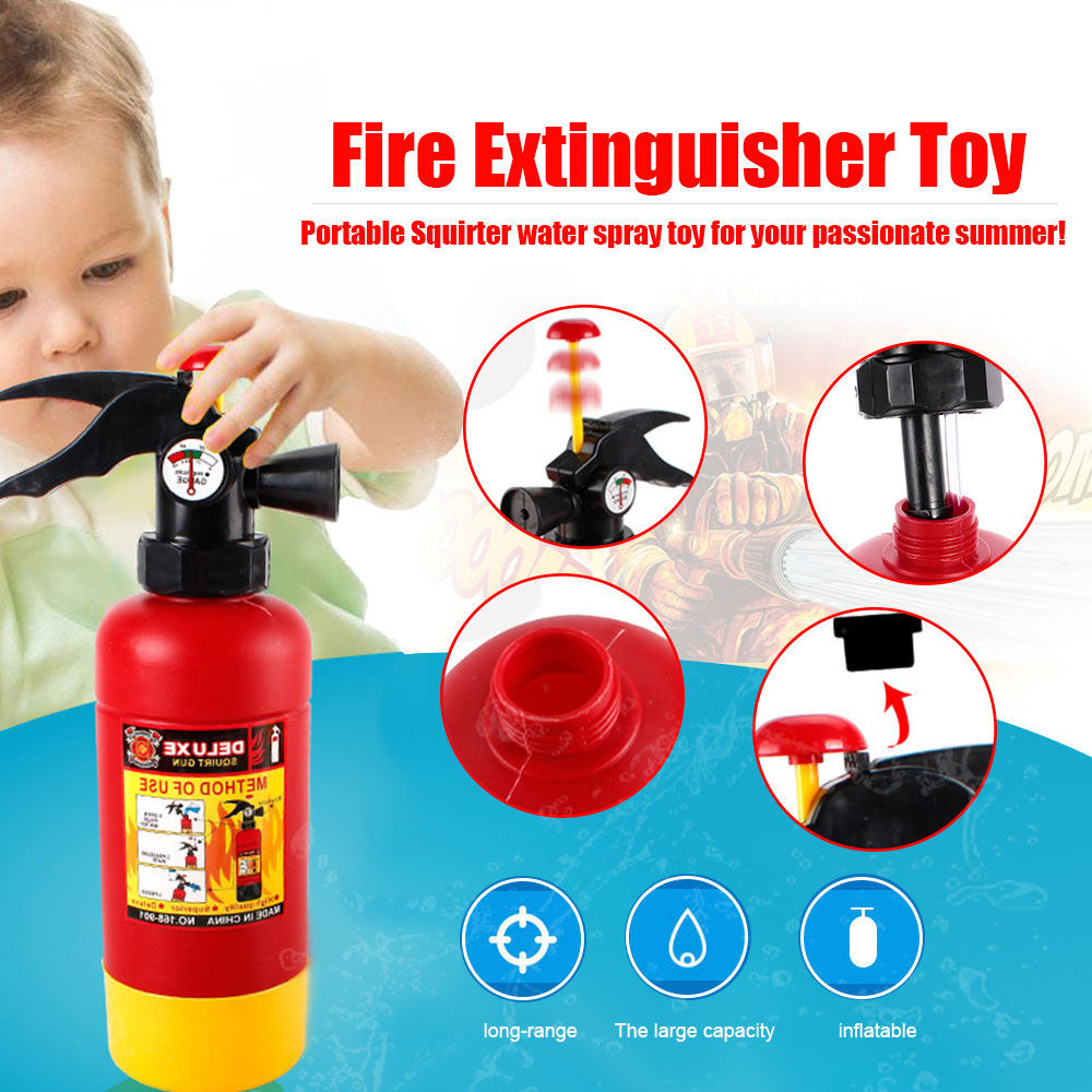 New Baby Water Gun Toy Fire Extinguisher Air-filled Hild Beach Big Game Shooting Pistol High Pressure Soaker Pump Action Outdoor