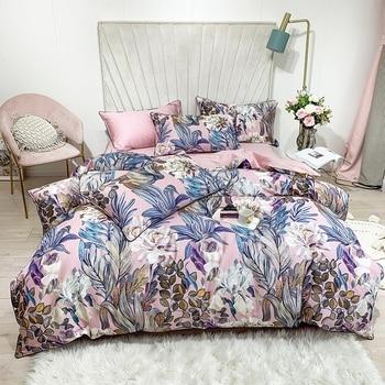 Egyptian Cotton Bedding Lilac Floral