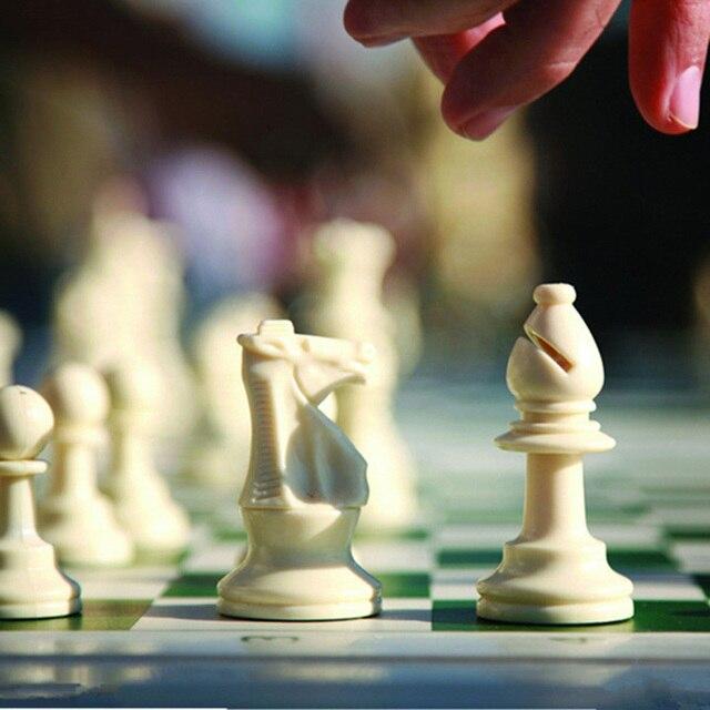 Jeu d'échecs médiéval 64/77/97mm, plateau magnétiques très pratique 1