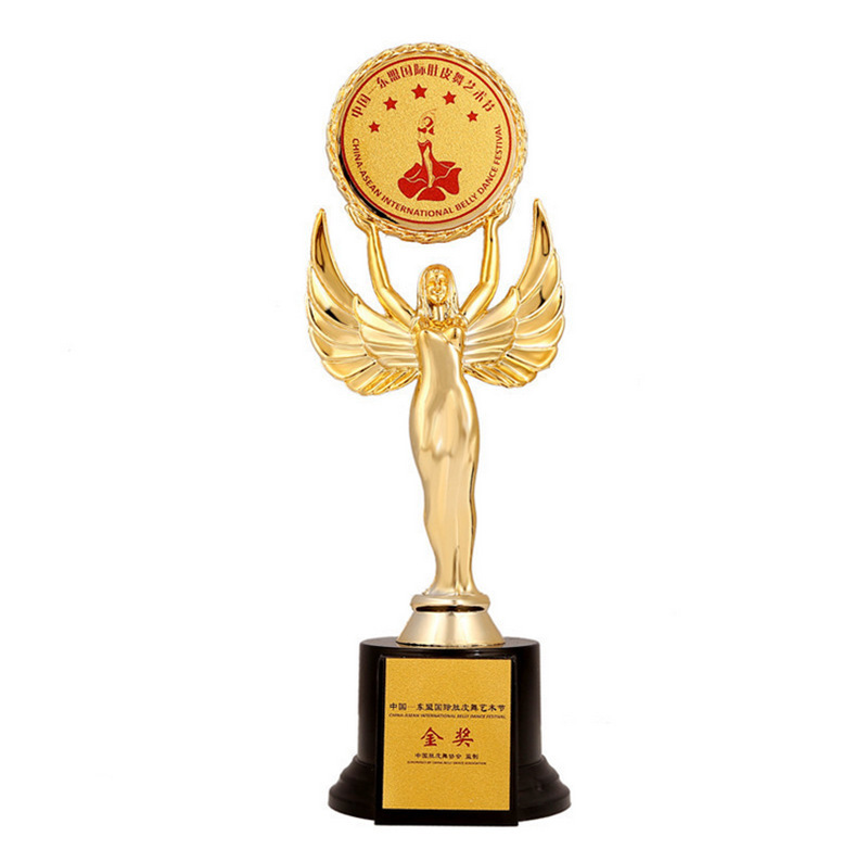 This Statue Customizable Plastic Trophy Dance Trophy Goddess Placards Angel Trophy Art Festival Game Trophy Wholesale