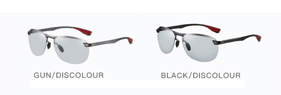 H5e89274351fe40d48824981ae4866a57t 2020 Brand Photochromic Men Sunglasses Polarized Glasses Day Night Vision Driving Sun Glasses For Male Oculos De Sol Masculino