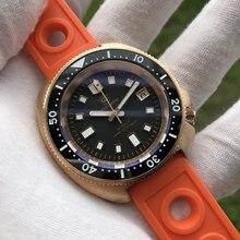 STEELDIVE 1970S CuSn8 Tin Bronze 200m Bronze Diving Watch Sapphire Crystal NH35