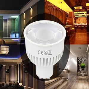 Image 4 - Miboxer FUT106 6W GU10 RGB+CCT LED Spotlight AC100~240V WIFI control spotlight For Houses Restaurants Bars