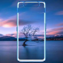 Transparent Slim Case for Samsung Galaxy A80 Case 360 Full Protection Anti-knock 3 in 1 Hard PC Cover for Samsung A80 Case Coque gkk case for samsung a80 case 360 full protection with tempered glass 3 in 1 matte hard cover for samsung galaxy a80 case fundas