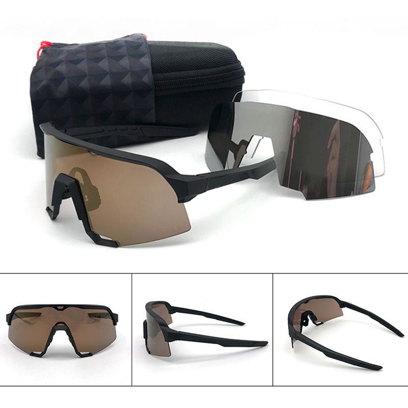 Peter Cycling Glasses Polarized Sport Cycling Sunglasses Sagan LE Collection Speed Sagan Speedcraft Riding Bike Glasses 3 Lens