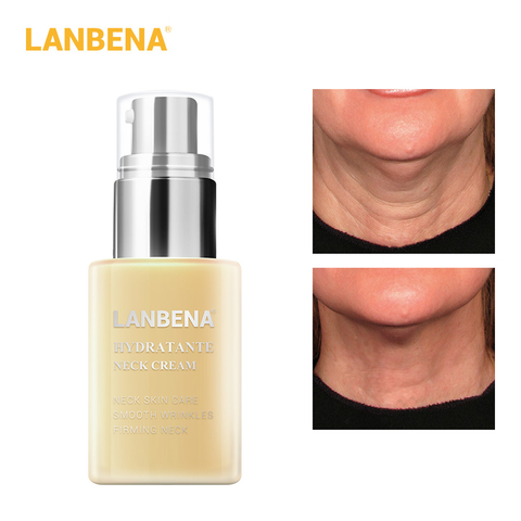Lanbena Moisturizing Firming Neck Cream Anti-wrinkle Neck Mask Reduce Fine Lines Relieving Health And Beauty Neck Care Skin Care Lahore