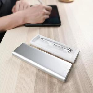 Image 5 - 新 Xiaomi Mijia Miiiw ペンケースオフィス学生鉛筆ケース学用品ペンボックスアルミ合金 ABS + Pc リンゴの鉛筆