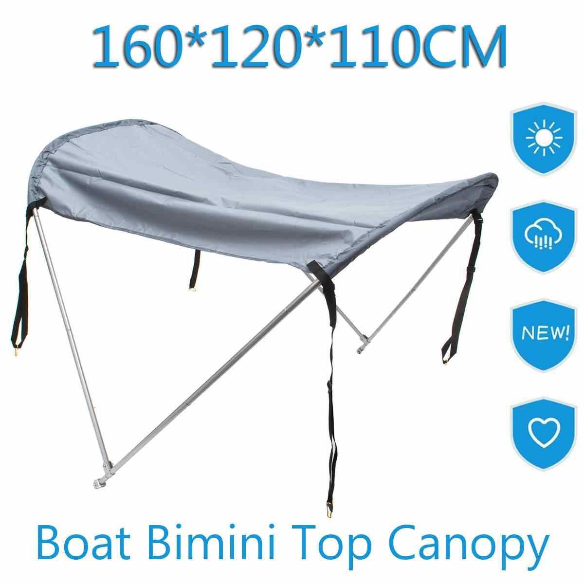 Bimini TOP ม่านบังแดด flatable เรือเรือ PVC Dinghy raft อุปกรณ์เสริมซันไชน์ PVC เรือตกปลาเต็นท์ Canopy