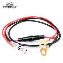 55 cm Wiring Harness Dual Link Cable Motorcycle Boat Car Cigarette Lighter Socket USB Charger Adapter Plug Connection Cord Lead(China)