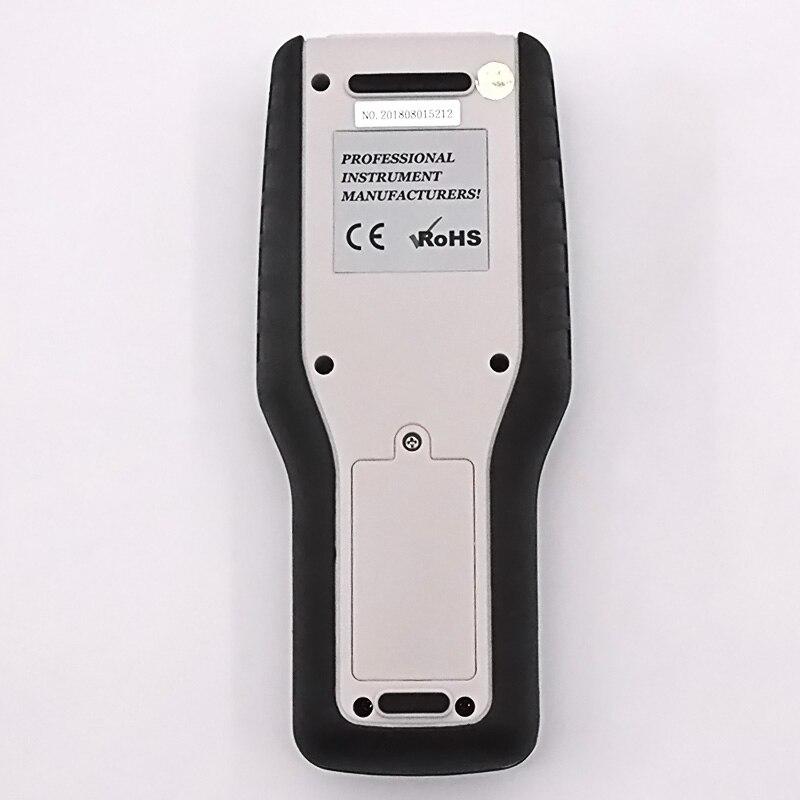 Testeur de vitesse du vent numérique anémomètre jauge outil de Diagnostic Air vitesse du vent enregistrements rappel et maintien des données compteur de vitesse du vent - 2