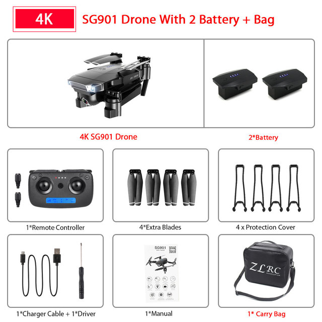 SG901 4K 2B Bag