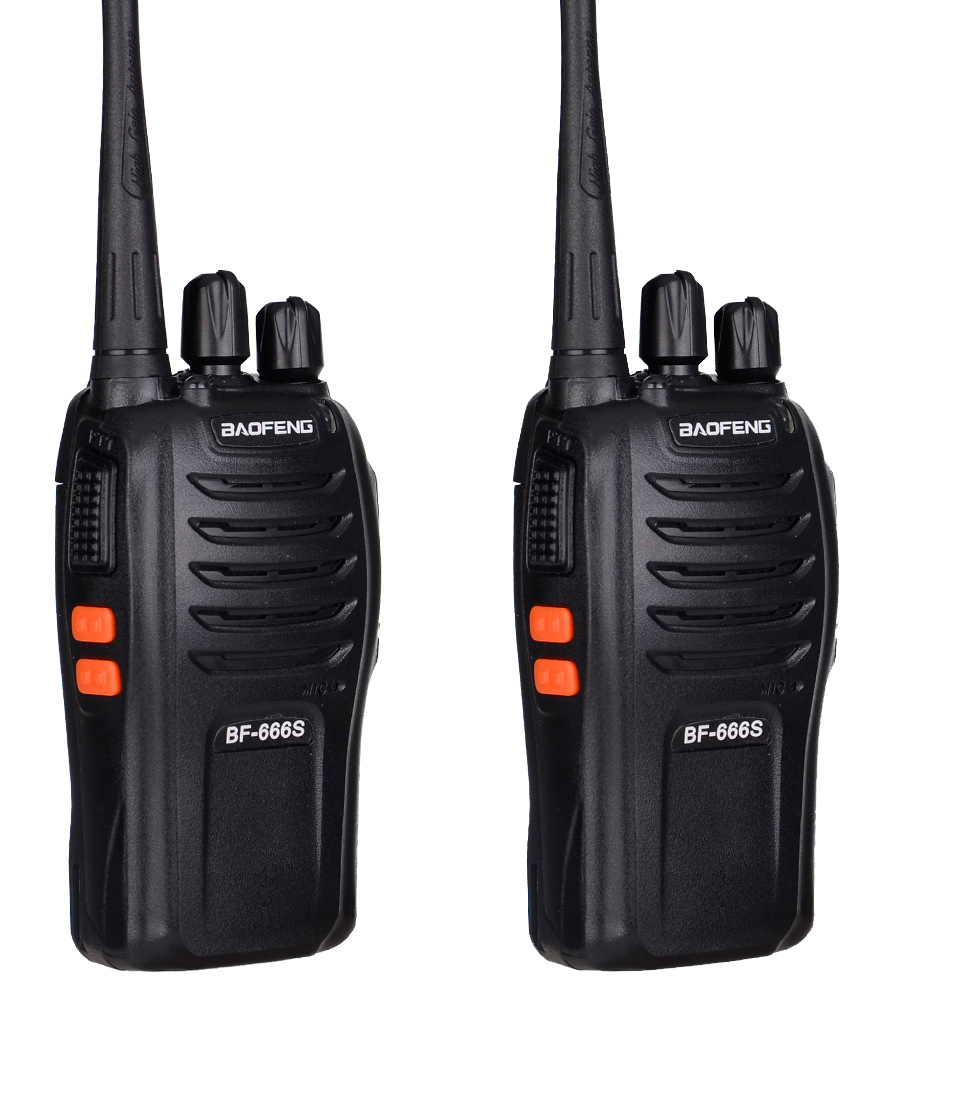 2PCS New Walkie Talkie Two-Way Radio Station Transceiver Two Way Radio Communicator USB Charging Walkie-Talkie WT666S