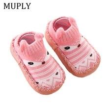 Infant Baby Warm Socks Non-Slip Toddler Girl Boy Floor Home Shoes Socks Cotton Knitting Soft Soles Baby Walking Foot Socks