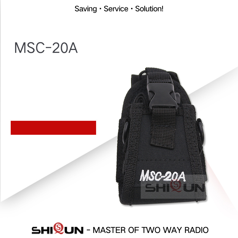 MSC-20A Nylon Multi-Function Universal Pouch Bag Holster Carry Case For Baofeng Radio UV-5R UV-9R UV-82 888S TH-UV8000D MD-380