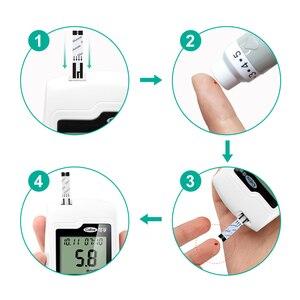 Image 5 - Cofoe GA 3 Blood Glucose Meter & Test Strips & Lancets Needles Diabetes Glucometer Blood Sugar  Monitor for Diabetic