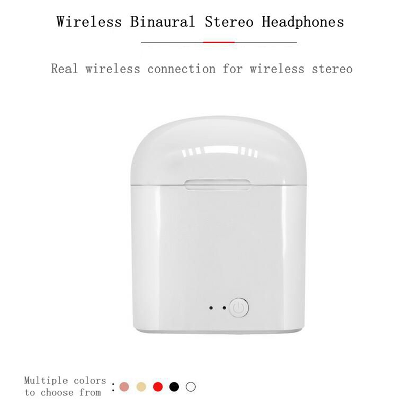 i7 bluetooth headset i9s / i12 tws high version comes with charging bin binaural stereo touch 5.0 tws wireless headset music cal