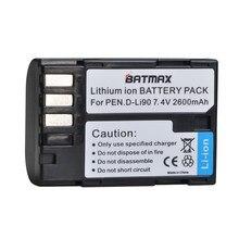 1Pc 2600mAh D-LI90 DLI90 D LI90 Batterie pour PENTAX 645 645D 645Z K-1 K-01 K-3 K-5 K-5D K-5IIs K-7 K-7D K1 K01 K3 K5 K5D II 2