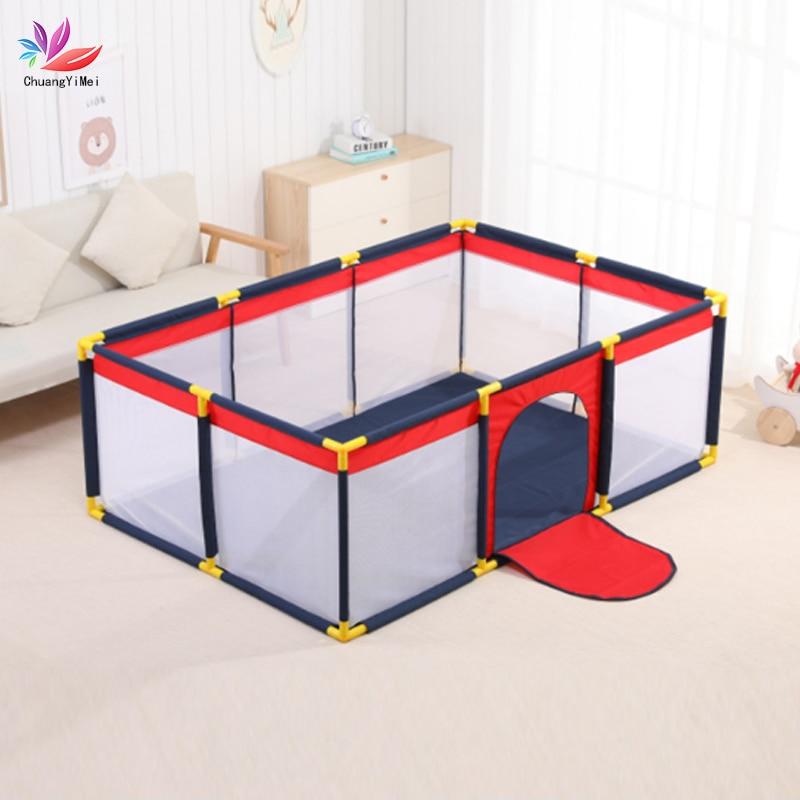 Baby Playpen Kids Safety Barrier For Children Pool Balls For Newborn Baby Fence Playpen For Baby Pool Children Playpen Balls Pit