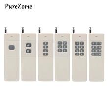 3000m Longue Portée Haute Puissance 1/2/4/6/8/12CH RF Télécommande Émetteur 433 MHz