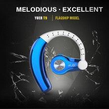 Wireless Bluetooth 4.1 Hansfree Earphone Stereo Sports Headset Single Ear Hook Headphone LHB99 цена