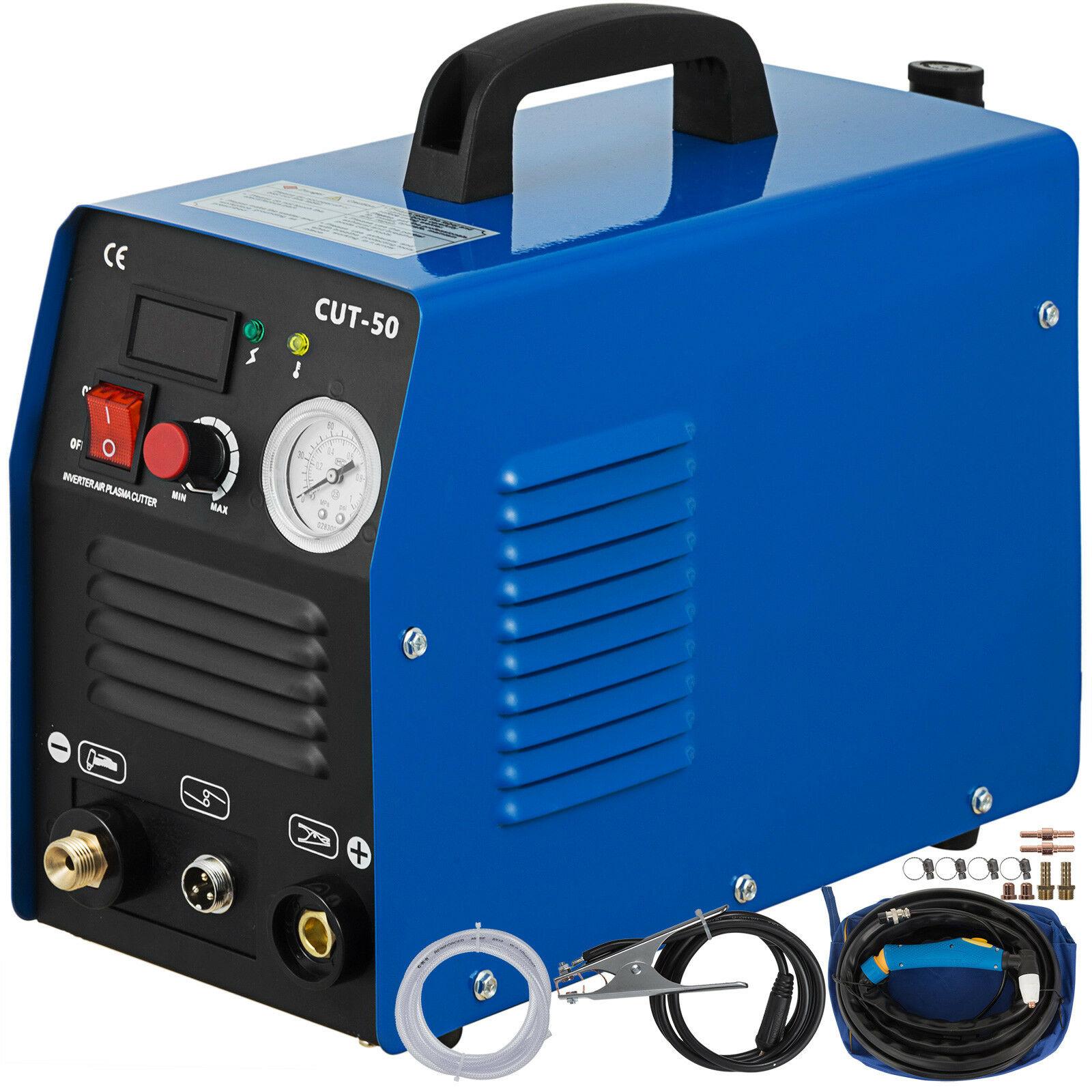 220V CUT-50 Air Plasma Cutter Machine 50A Inverter DIGITAL Cutting 12mm