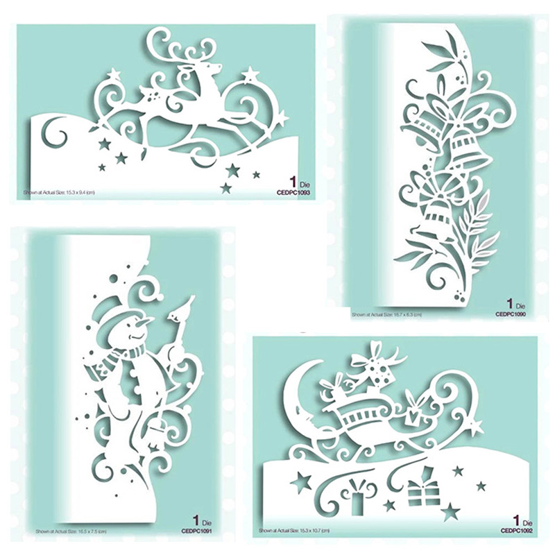 <font><b>Christmas</b></font> Lace set Metal <font><b>Cutting</b></font> <font><b>Dies</b></font> for DIY Scrapbooking Photo Album Decorative Embossing Paper Card Crafts <font><b>Die</b></font> Cut 2019 image