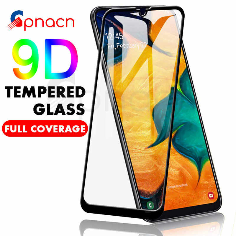 9D Tempered Glass For Samsung Galaxy A20e A50 A60 A70 A80 A90 Screen Protector Glass A40s A40 A30 A20 A10 M10 M20 M30 M40 Film