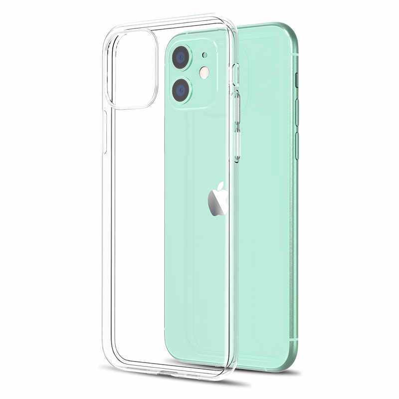 Custodia in Silicone trasparente Ultra sottile per iPhone 11 7 custodia morbida in Silicone per iPhone 11 Pro XS Max X 8 7 6s Plus 5 SE 11 XR