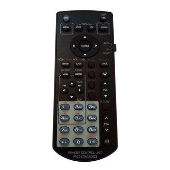 Accesorios RC-DV330 ABS inalámbricos negros sustituyen el mando a distancia Universal Radio DVD Audio Multimedia pequeño Para Kenwood DDX271