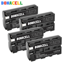 Bonacell NP-F550 Rechargeable Li-ion battery For Sony NP-F330 NP-F530 NP-F570 NP-F730 NP-F750 NP-F770 NP-F970 Digital battery doscing 4pcs 7200mah np f960 np f970 np f930 rechargeable camera battery for sony f950 f330 f550 f570 f750 f770 mvc fd51