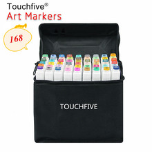 US $0.59 31% OFF|1PCS TouchFive Optional 168 Colors Sketch Markers Alcohol Based Markers Color Marker Set Painting Art Supplies Pen for School-in Art Markers from Education & Office Supplies on AliExpress