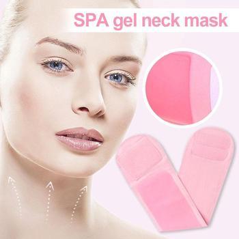 Żelowa maska na szyję przeciwzmarszczkowa pielęgnacja skóry nawilżająca membrana na szyję wybielanie naprawa membrany na szyję tanie i dobre opinie LANBENA NECK Neck mask