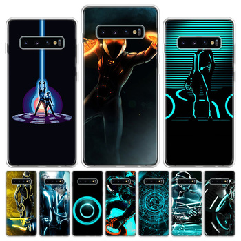 Tron Legacy Phone Case For Samsung Galaxy S6 S7 S8 S9 S10 S10E S20Ultra Plus Lite J4 J6 J8Plus Note 8 9 10 Plus Cover image