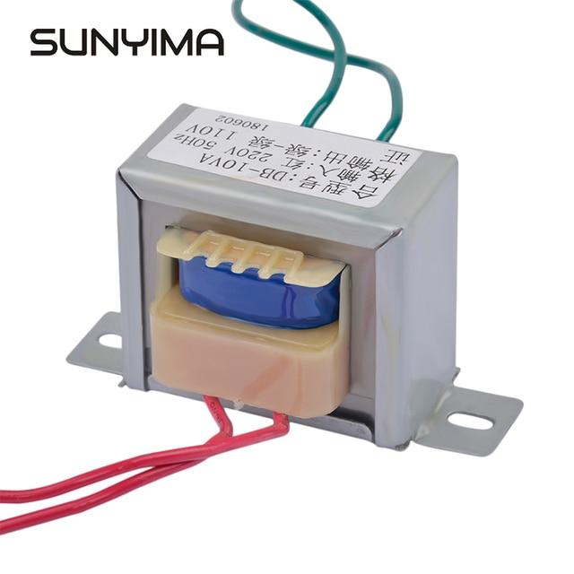 SUNYIMA Transformer AC 220V To AC 110V 10W Generator EI48*24 Independent Single Isolation Secondary Voltage Converter Toroidal