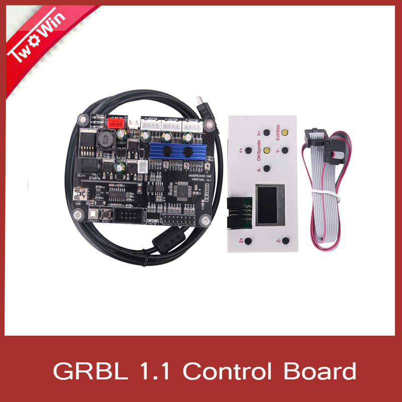 GRBL 1.1 USB Port CNC Engraving Machine Control Board, 3 Axis Control,Laser Engraving Machine Board with Offline Controller