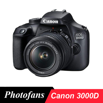 Canon 3000D / 4000D/Rebel T6 DSLR Camera with 18-55mm Lens