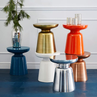 Martini end table Nordic living room sofa side table leisure coffee table tea table customized color allowed