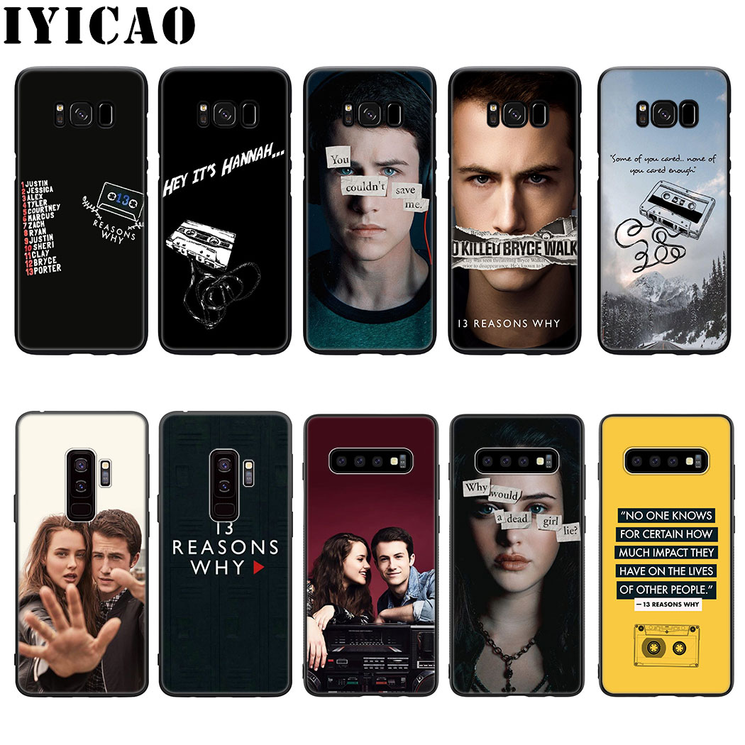 IYICAO <font><b>13</b></font> <font><b>Reasons</b></font> <font><b>Why</b></font> Silicone Soft <font><b>Phone</b></font> <font><b>Case</b></font> for Samsung Galaxy S10 S9 S8 Plus S6 S7 Edge S10e Cover image
