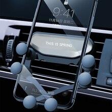 Universal Car Phone Holder Deformation Air Outlet Mount Grav