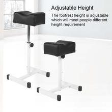 Adjustable Pedicure Nail Footrest Manicure Foot Rest Desk Salon Spa