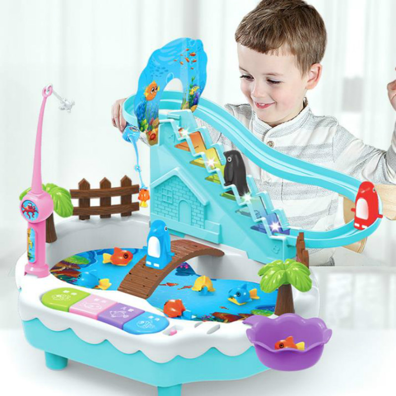 2 In 1 Combo Electric Educational Toys Parent-Child Interactive Game Battery Operated Sound Toy 3-6 Years Old
