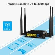 3G 4G yönlendirici mobil araba Wifi 4G Modem Sim kart yuvası ile 300Mbps 3G 4G Modem Lte yönlendirici kablosuz yönlendirici Openwrt firmware
