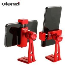 Ulanzi ST-04 métal 360 degrés Rotation verticale prise de vue Smartphone pince support de montage pour la photographie en direct diffusion Selfie