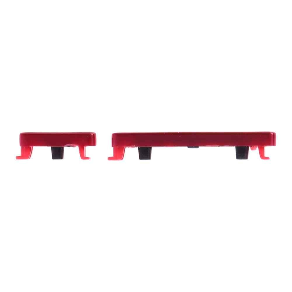زر الطاقة و زر التحكم في مستوى الصوت ل شاومي Redmi نوت 7 برو/Redmi نوت 7 مفاتيح جانبية قطع الغيار التبديل الكابلات المرنة